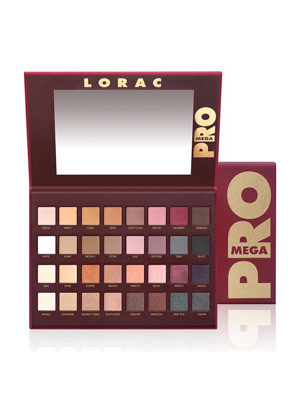 Lorac Pro To Go Professional Eye Collection Review: LORAC Mega Pro Palette